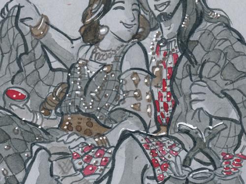 Chiantishire – Le donne etrusche