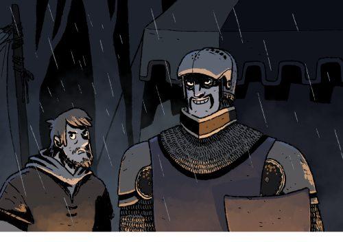 La Testa del Principe Nero, primo capitolo Online!