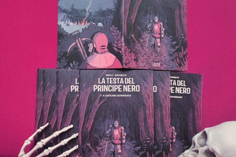 La Testa del Principe Nero – Volume 1 Disponibile!